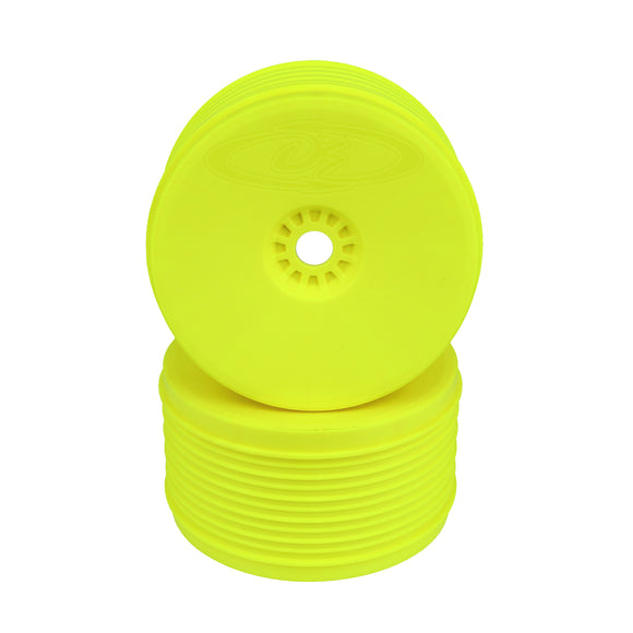 Speedline Plus Truggy Wheels- 1/8 Truggy/Yellow/4pcs
