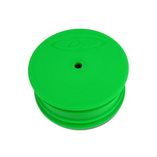 Speedline Buggy Wheels for Losi 22 - Front - Green