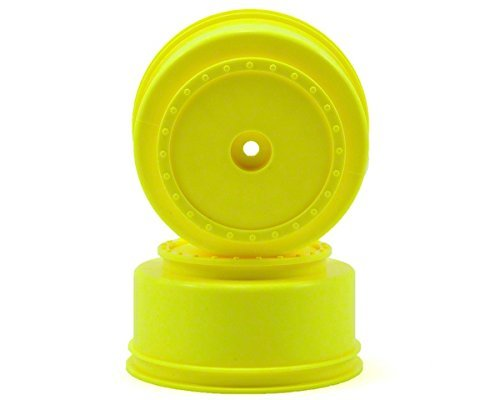 Borrego SC Wheels-TLR TEN-SCTE -22SCT/TeknoSCT410/Yellow/4pcs