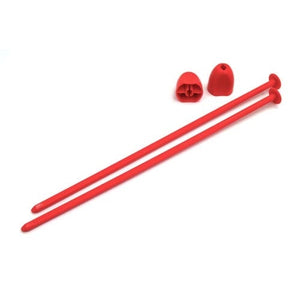 Zip Stix / Red / 4pcs