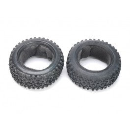 Front Tires with Inner Foams (2 pcs) - Wolf 2