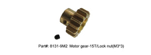Motor Gear - 18T with Set Screw (M3x3mm) Hunter