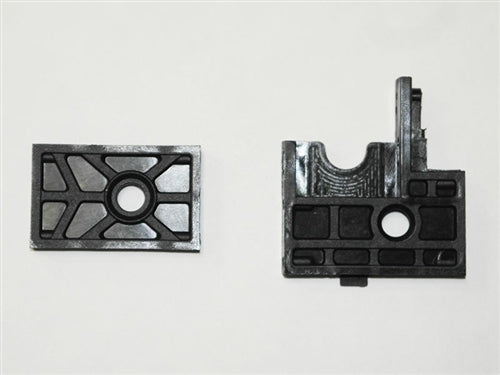 Spur Gear Mounting Plates A/B - Crosse Brushless