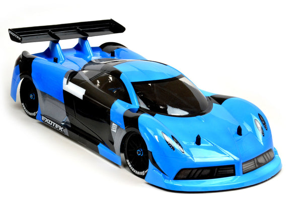 P-ZERO GT, Clear Body with Lexan Wing,