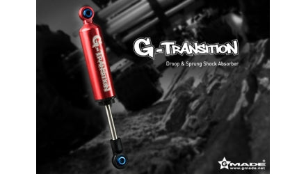 G-Transition Shock Red 80mm (4) for 1/10 Crawler