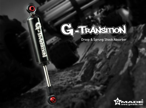 G-Transition Shock Black 80mm (4) for 1/10 Crawler
