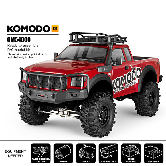 KOMODO GS01 4WD Off-Road Adventure Vehicle, Kit