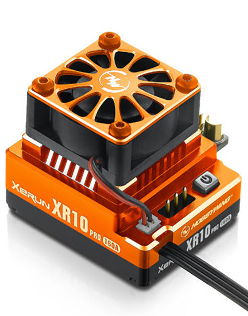 XeRun, XR10 Pro, 160 Amp Brushless ESC - Orange