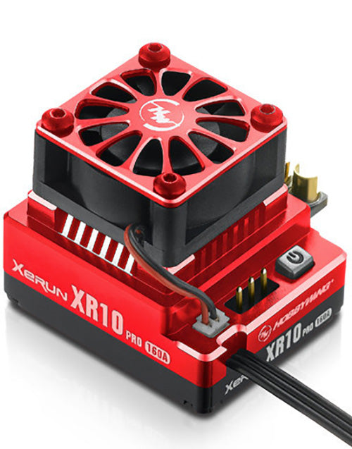 XeRun XR10 Pro, 160 Amp Brushless ESC - Red