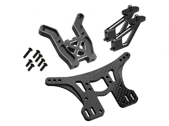 C4.2 Rear Suspension Kit - Tower, Bulkhead, Wing Mnt
