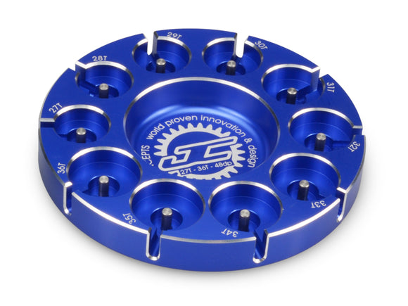 Pinion Puck-Stock Range 27-36T 48P Blue