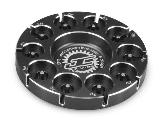 Pinion Puck-Stock Range 27-36T 48P Black