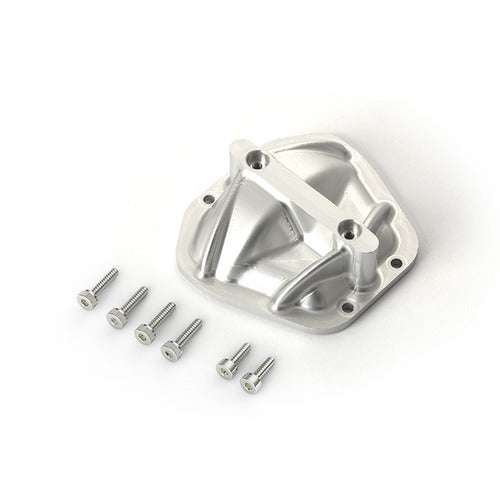 GA60 3D Machined Differential Cover (Silver): GOM