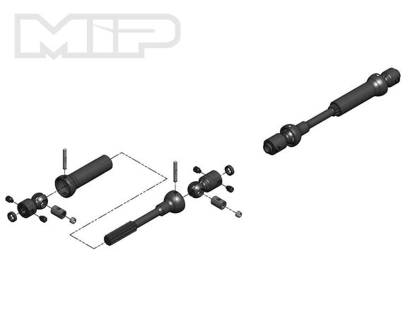 MIP X-Duty, Center Drive Kit, 115mm to 140mm
