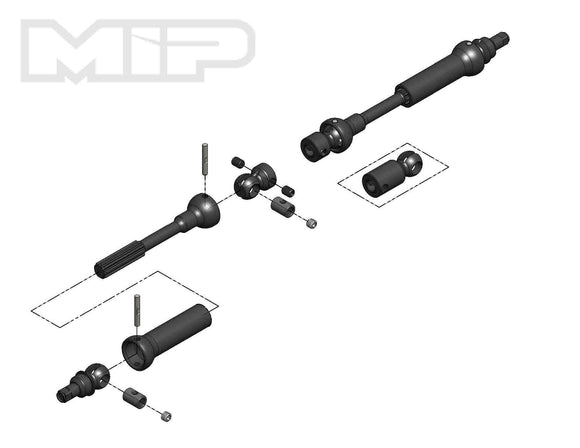 MIP X-Duty, Center Drive Kit 95mm to 130mm