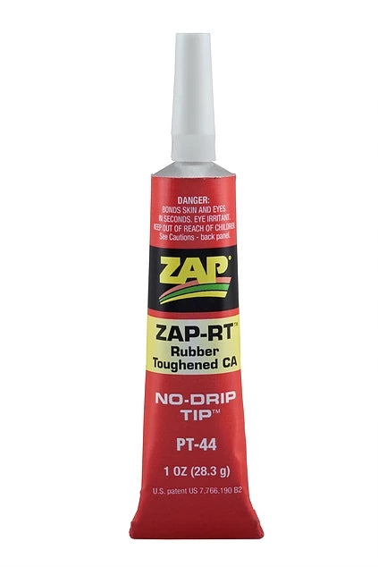 Zap-RT Rubber Toughened CA 1oz Tube