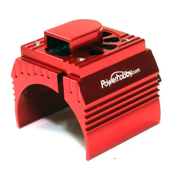 Aluminum Cooling Fan 1/8: Red