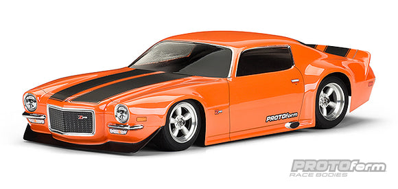 1971 Chevrolet Camaro Z28 Clear Body for VTA Touring Car