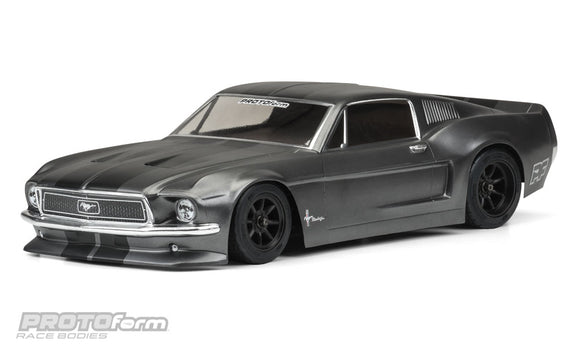 1968 Ford Mustang Clear Body for VTA (Vintage Trans Am)