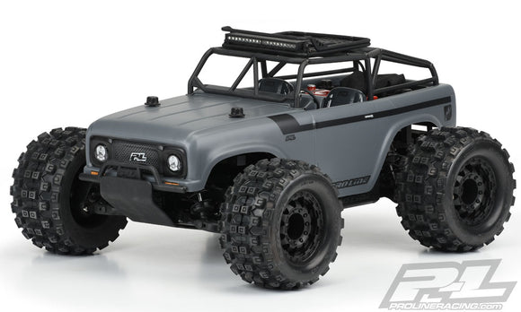 Ambush Clear Body w/ Ridge-Lin e Trail Cage, for PRO-MT 4x4,