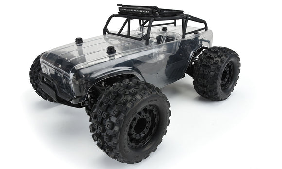 Ambush-MT Monster Truck 4x4 w/Trail Cage, Pre-Built Roller