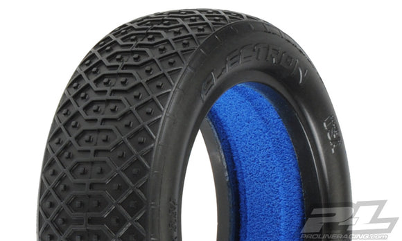 Electron 2.2 2WD MC (Clay) Off-Road Buggy Front Tires (2)