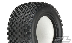"Wedge T 2.2"" Truck Front Tires in Z3 (Medium Carpet) Compound"