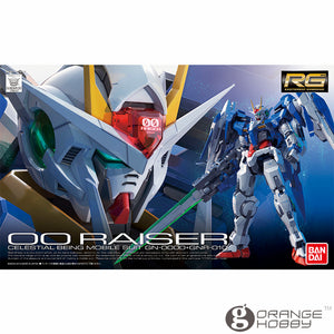 OHS Bandai RG 18 1/144 GN-0000-GNR-010 OO Raiser Mobile Suit Assembly Model Kits oh
