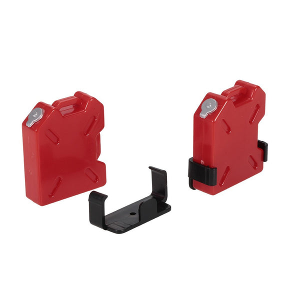 2Pcs Oil/Gasoline Tank Container for 1/10 AX10 SCX10 RC4WD TRX-4 Rock Crawler RC Car