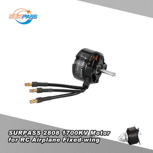 Original SURPASS High Performance 2808 1700KV 14 Poles Brushless Motor for RC Airplane Fixed-wing