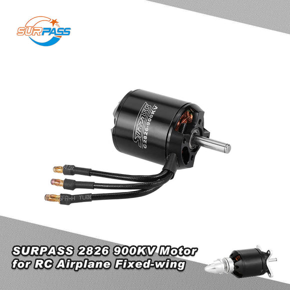 Original SURPASS High Performance 2826 900KV 14 Poles Brushless Motor for RC Airplane Fixed-wing