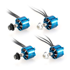4pcs Sunnysky R1408 1408 3800KV 2-4S CW/CCW Brushless Motor Kit for RC Racing Drone Quadcopter