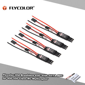 Original Flycolor Fairy Series 30A Brushless ESC Electronic Speed Controller with 5V/1A BEC for F450 F550 Quadcopter