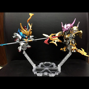 High Quality Universal six-sided bracke Base Suitable Display Stand For 1/144 HG/RG Gundam Figure Animation Cinema Game ACG Toys