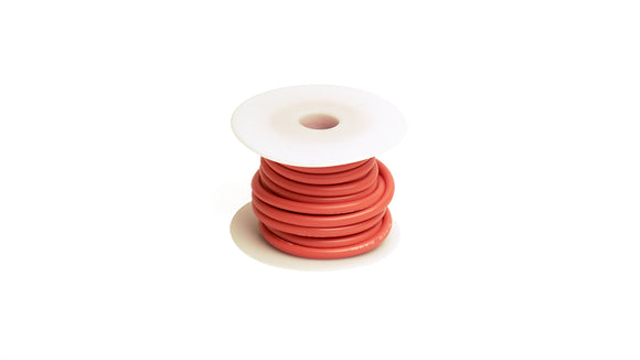 10 Gauge Silicone Ultra-Flex Wire; 25' (Red)