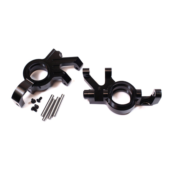 X-Maxx Alum Steering Knuckle Set-Black