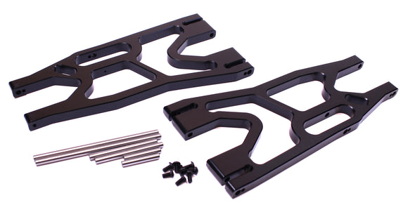 X-Maxx F/R Alum Lower Suspension Arm Set-Black