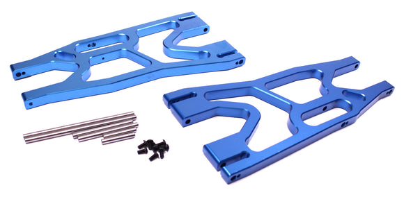 X-Maxx F/R Alum Lower Suspension Arm Set-Blue