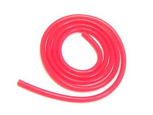 100CM SILICONE FUEL TUBING RED