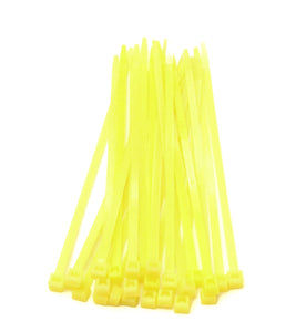 "7 1/2"" Yellow Tie Wraps (25)"