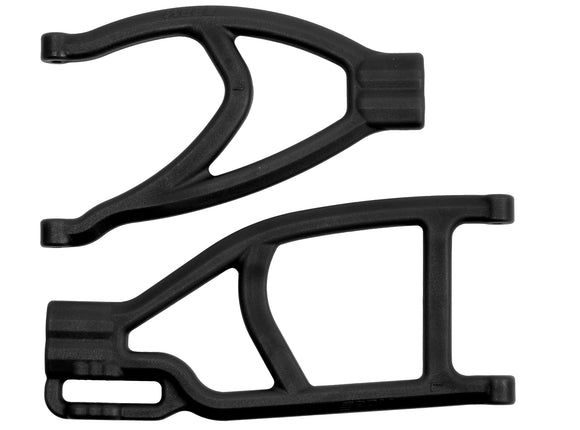 EXTENDED LEFT REAR A-ARMS FOR THE TRAXXAS SUMMIT & REVO BLK