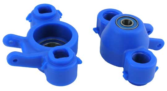 REVO AXLE CARRIERS & BEARINGS (2) BLUE