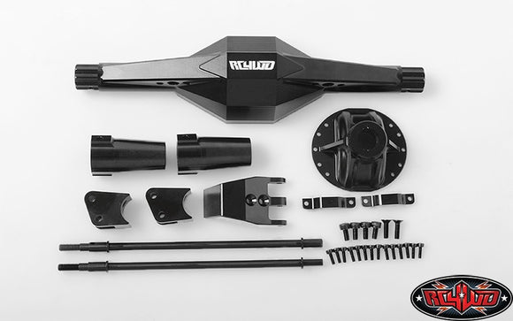 Hardcore Centered Rear Axle Case for Axial Yeti 1/10