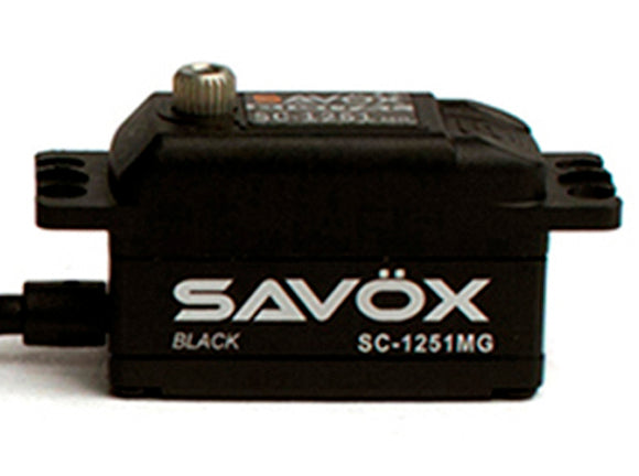 BLACK EDITION LOW PROFILE DIGITAL SERVO .09/125 @ 6.0V