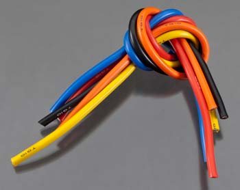 10 Gauge Super Flexible Wire - 1' ea. Black, Red, Blue,
