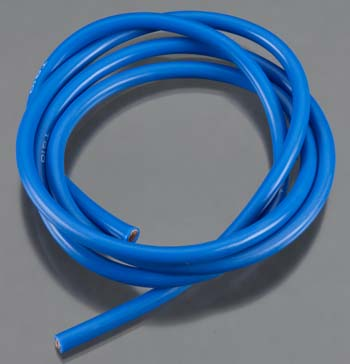 10 Gauge Super Flexible Wire- Blue 3'