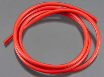 10 Gauge Super Flexible Wire- Red 3'