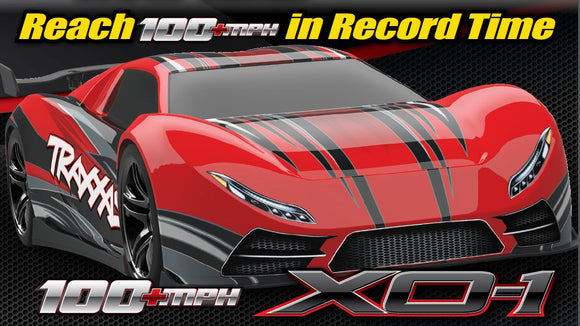 XO-1 FULLY ASSEMBLED, RTR WITH TRAXXAS STABILITY MANAGEMENT