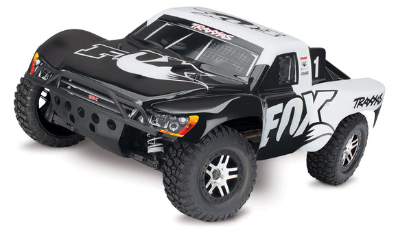 Slash 4X4 1/10 S.C Truck RTR, W/ TSM, and VLX Brushless