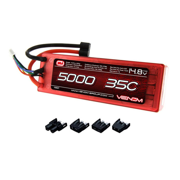 35C 4S 5000MAH 14.8V HARD CASE LIPO BATTERY ROAR - UNI